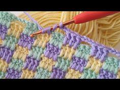 Crochet Baby Blanket Beginner, Easy Baby Blanket, Easy Crochet, Baby Knitting, Knitted Baby Blankets, Crochet For Beginners, Stitch, Friendship Bracelets, Clothes