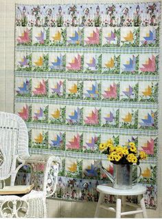 Behind The Picket Fence Quilt Pattern Pieced CA