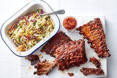 Southern BBQ pork ribs