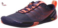Merrell Vapor Glove 2, Chaussures de Trail Femme, Multicolore (Crown Blue), 39 EU - Chaussures merrell (*Partner-Link)