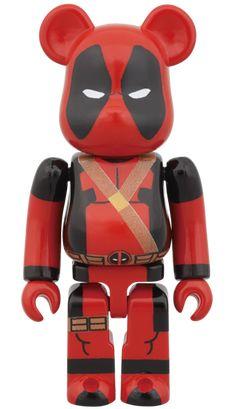 Deadpool Bearbrick 100%