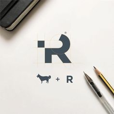 Creative Logo, Design, Real, Paws, and Raphael image ideas & inspiration on Designspiration Web Design, Icon Design, Flat Logo, 2 Logo, Typo Logo, Symbol Logo, Clever Logo, Cool Logo, Logo Smart