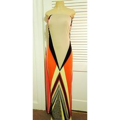 Multicolor summer dress Beautiful maxi dress. Vibrants colors, super confortable, very sexy. Worn 1 time only, excellent condition.without hang tags, and original package. Colors: tan,orange,pink salmon, black, yellow. Snap Dresses Maxi