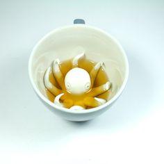Octopus Creature Cup by Yumi Yumi $9.75 #Octopus_Cup #Yumi_Yumi