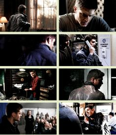 [GIFSET] Dean + Shoulders