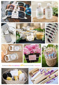 La date de votre mariage approche et vous souhaitez offrir un petit cadeau à vos invités pour les remercier de leur présence ?
