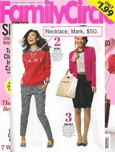 mark's Pop Your Collar Necklace featured in @Christianne Crump Circle Magazine! #fashion #accessories #glitz
