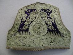 RARE Antique Ottoman Velvet Gold Embroided Child Jacket Cepken | eBay
