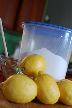 Fresh squeezed lemonade recipe (we used this recipe for our lemonade stand and the customers raved! :)