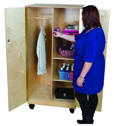 Wood Design's Locking Teacher's Cabinet is now available on our site and on SALE for a limited time!
