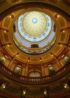 Michigan's Capital Dome | The dome at Michigan's capital bui… | Flickr