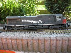 aristocraft trains | Aristo Craft Dash 9 Southern Pacific - Modellbau-koenig