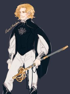 nicaise, my capri son — berahthraben: This captive prince shit is pretty...