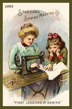 Standard Sewing Machine Co. First Lessons in Sewing