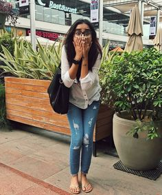 College Girl Fashion, Casual College Outfits, Prom Outfits, Summer Fashion Outfits, Casual Summer Outfits, Fall Outfits, Casual Dresses, Indian Gowns Dresses, Western Outfits