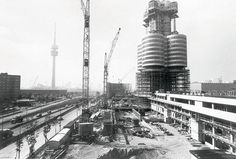 Munich BMW Tower (under construction)