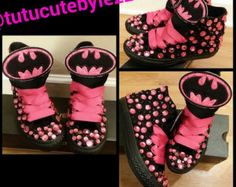 Custom Batman converse by ABlingbySimonellc on Etsy