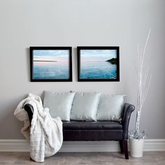 Bring the ocean home with this set of seascape photos. A wonderful touch for any beach decor. Just download and print.  #beachhousedecor #seascape #printables Rgb Color Space, Ocean House, Ocean Photography, Beach House Decor, Photographs, Photos, Pixie, Room Decor, Cottage
