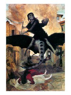 Arnold Böcklin - The Plague (1898) - Google Search