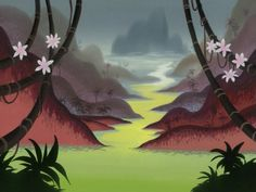 Samurai Jack backgrounds