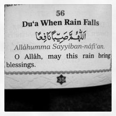 When rain falls....Allah hu Akbar! Sponsor a poor child learn Quran with $10, go to FundRaising http://www.ummaland.com/s/hpnd2z