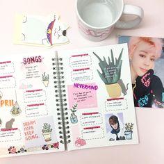 Korean Scrap book