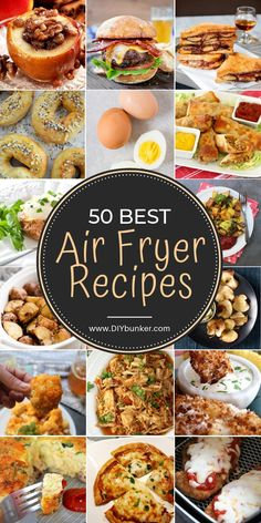 LOVING these easy air fryer meals! They're perfect if you're new to air frying and want a nice variety of meals to choose from. LOVING these easy air fryer meals! They're perfect if you're new to air frying and want a nice variety of meals to choose from. Air Frier Recipes, Air Fryer Oven Recipes, Air Fryer Dinner Recipes, Power Air Fryer Recipes, Air Fryer Recipes Vegetables, Air Fryer Recipes For Chicken, Air Fryer Recipes Potatoes, Convection Oven Recipes, Nuwave Oven Recipes