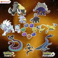 pokemon past and future Pokemon Fóssil, Pokemon Breeds, Pokemon Fusion Art, Pokemon Pokedex, Pokemon Comics, Pokemon Memes, Pokemon Fan Art, Original Pokemon, Pokemon Pictures