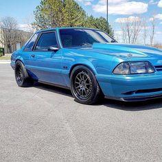 Clean notch 93 Mustang, Fox Body Mustang, Mustang Cars, Custom Muscle Cars, Custom Cars, Notchback Mustang, Mercury Capri, Pony Car, Sweet Cars