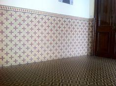 Zementfliesen, Marokko - cement tiles, morocco