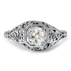 18K White Gold The Matha Ring from Brilliant Earth
