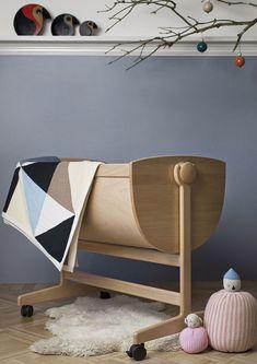 Колыбель Lulu, дизайн Нанна Дитцель