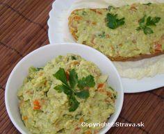 Guacamole - avokadova natierka Guacamole, Dips, Ethnic Recipes, Food, Sauces, Dipping Sauces, Eten, Dip, Meals