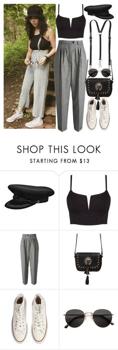 """""""Instagram: @nikkaphillips"""" by nikka-phillips ❤ liked on Polyvore featuring Yves Saint Laurent, Converse and H&M"""