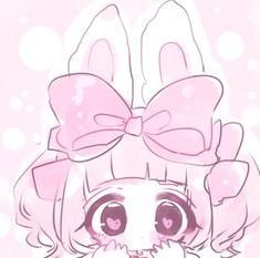 Cute Anime Chibi, Cute Anime Pics, Kawaii Anime Girl, Arte Do Kawaii, Kawaii Art, Anime Girl Pink, Anime Art Girl, Cute Art Styles, Cartoon Art Styles