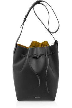 Leather bucket bag by: Mansur Gavriel