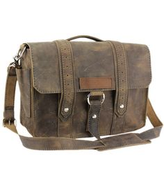 Our Voyager bags are so versatile that this bag can be used as a laptop, camera, briefcase or even a diaper bag. All handcrafted in the US by master craftsmen who have a passion for what they do. www.copperriverbags.com