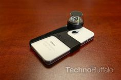 Kogeto Dot - An iPhone add-on which allows users to capture video in a single 360-degree panoramic shot