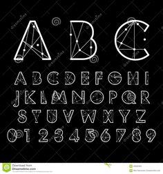 Imagen relacionada Number Vector, Typography, Lettering, Icon Font, Alphabet, Numbers, Fonts, Templates, Digital
