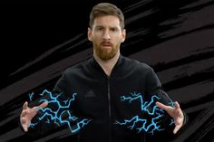 Trippy Graphics Light Up Pogba, Messi, Suarez and Firmino in Latest Adidas Spot | Creativity Online