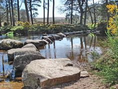 Dunnabridge, Huccaby, Hexworthy (Hamlet on Dartmoor, a mile upstream from Dartmeet)