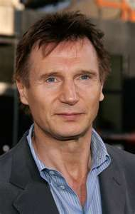 Liam Neeson. My mom's favorite. I so wouldn't mind having him as a step-daddy! :)