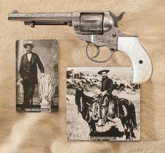 John Wesley Hardin's .41 Colt Model 1877.