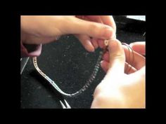 ▶ How to Make a Ladder Bracelet Part 2 of 2 - YouTube