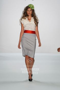 Mercedes-Benz Fashion Week Berlin - Focus On Fashion Anja Gockel - Mercedes-Benz Fashion Week Berlin SpringSummer 2013#033