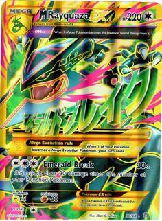Pokemon Mega Rayquaza Shiny Jumbo