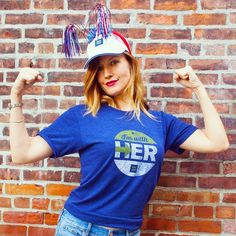 Her fight is our fight. Can't wait for debate night! #Debates2016 #ImWithHer #LGBT #LGBTQ #HillaryClinton #🇺🇸 #💪