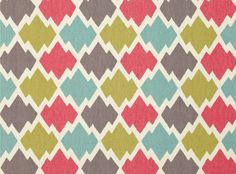 Mulu Tutti-Frutti fabric - would be really cute for a little girls room