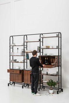 Circuit Bookshelf by david/nicolas | Yellowtrace