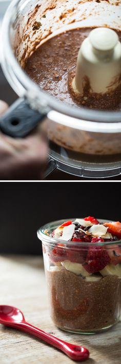 buckwheatporridgevegan   Raw Chocolate Hazelnut Breakfast Parfait + Book News